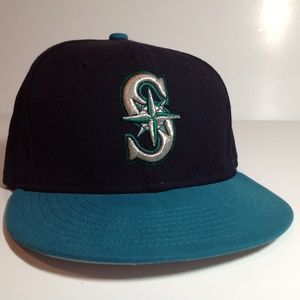 Seattle Mariners Hat New Era 59Fifty Size 7 1/8 Ex